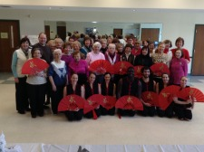 Chinese New Year Celebration at South Windsor Senior Center on 1/31/2014