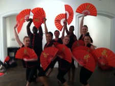 dancEnlight performs at NBC Health and Wellness event 3/10/2013