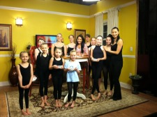 dancEnlight Summer Intensive students Interview with Teresa Lababera at Channel 8